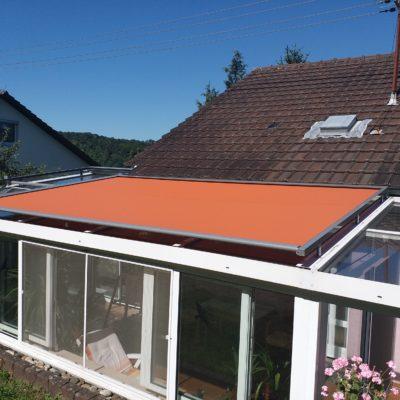 Sonnenschutz für Wintergärten